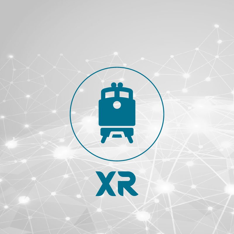 DS-xR Solution for Smart Railway Transportation